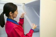 棚、野菜室、自動製氷機の給水タンク洗浄